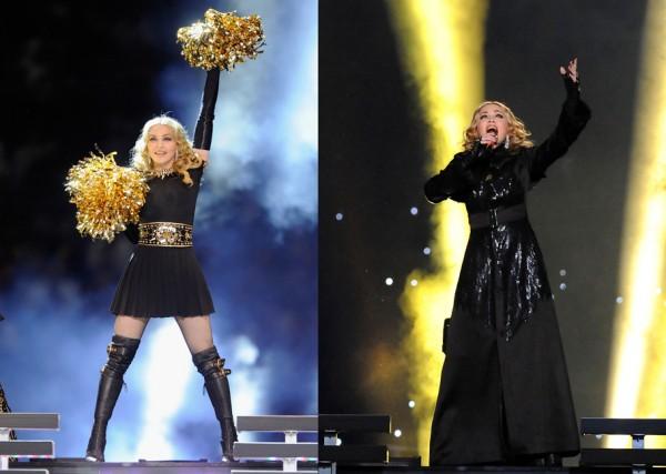 Новости: выступление года — Мадонна на чемпионате Super Bowl