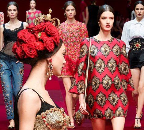 Неделя моды в Милане: матадоры и байлаоры на показе Dolce&Gabbana