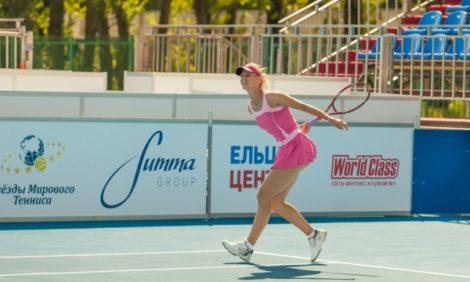 Образ жизни: Уроки тенниса от суперзвезд. Санкт-Петербург. Крестовский остров