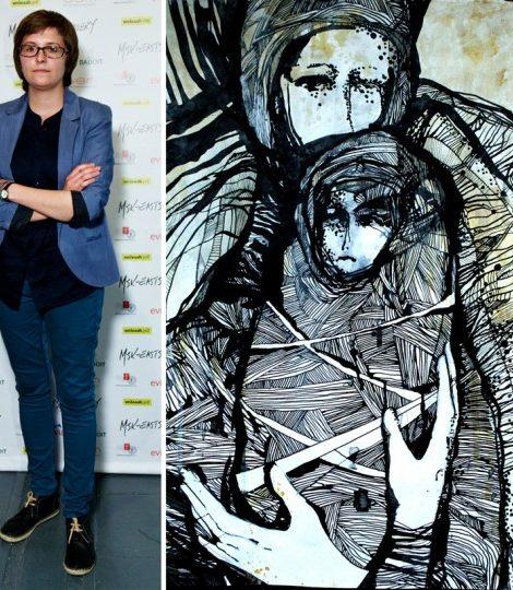 Новости: Дебютная выставка Дарьи К.  в галерее MSK Eastside