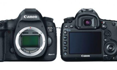 Фотостудия: Canon запускает новую модель 5D Mark III