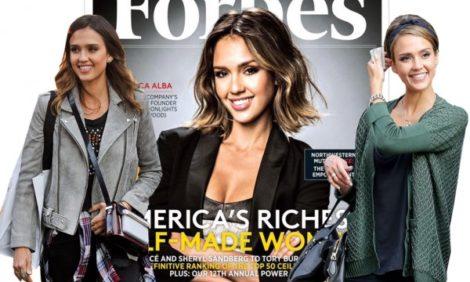 Women in Power: журнал Forbes назвал Джессику Альбу одной из самых успешных selfmade-женщин мира