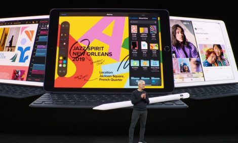Все самое интересное с презентации Apple в Калифорнии: непотопляемые смартфоны и планшет как полноценная альтернатива ноутбуку