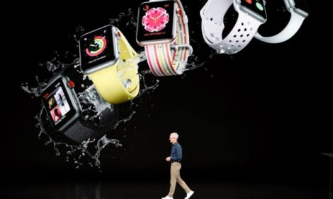 Часы с функцией ЭКГ и новые смартфоны: презентация Apple в Театре Стива Джобса