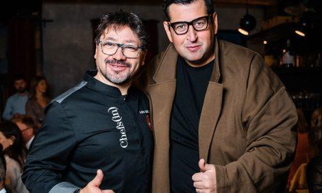 Дружеский светско-гастрономический ужин Posta-Magazine вместе с Адрианом Кетгласом и Андреем Ждановым
