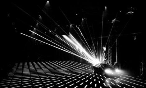 Светская хроника: световое 3D-шоу в честь российской премьеры Audi A5 и S5 Coupé