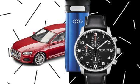 Идея подарка: что положить под елку поклоннику автомобильного бренда Audi?