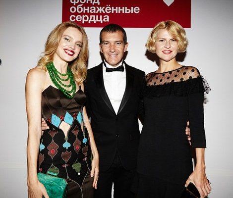 Vanity Fair с Марией Лобановой: Антонио Бандерас и Наталья Водянова представили проект «Делай как я»