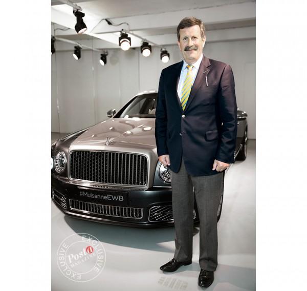 Авто с Яном Коомансом: эксклюзивное интервью с Ричардом Чарльзворсом или История легенды Bentley