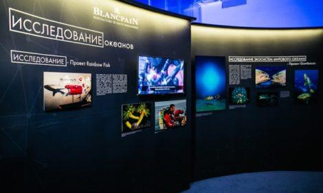 Светская хроника: открытие выставки Blancpain Ocean Commitment, посвященной сохранению Мирового океана