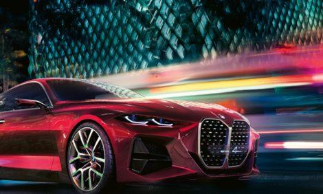 BMW Concept 4: новый формат острых ощущений