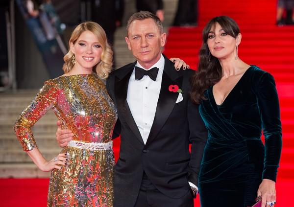 Светская хроника: мировая премьера «007: Спектр» в Лондоне