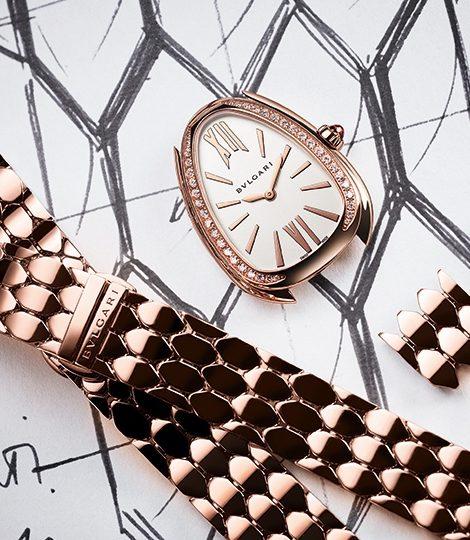 Часы & Караты: революционные новинки часового подразделения Bvlgari на выставке в Базеле