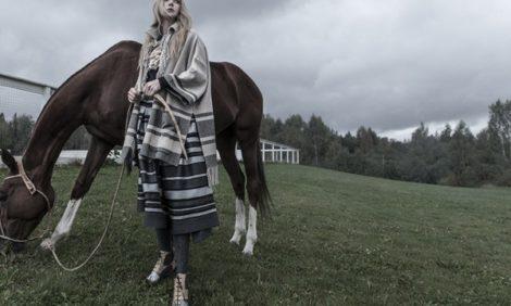 Тренды осени: американская классика с актрисой Аленой Чеховой