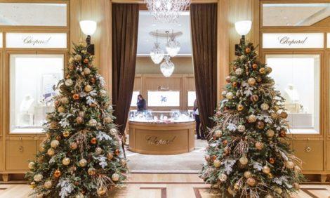 Светская хроника: Каролина Шойфеле на открытии обновленного бутика Chopard в «Барвиха Luxury Village»