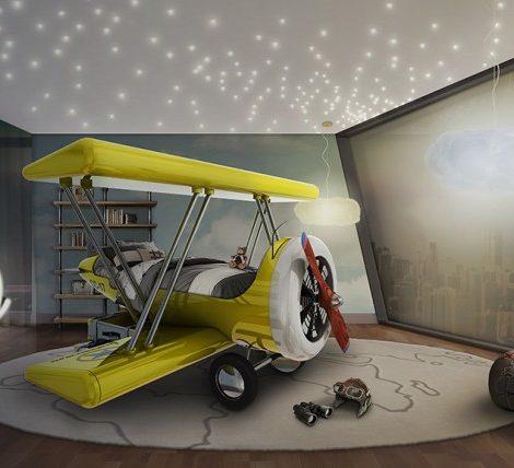 Posta Kids Club: идея подарка — кровать-самолет и другая невероятная мебель для детских комнат
