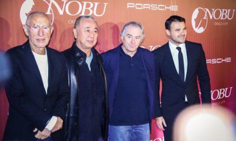 Светская хроника: Роберт Де Ниро на открытии Nobu в «Крокус Сити Молл»