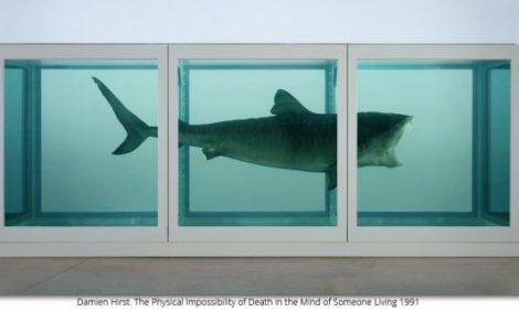 Календарь: Ретроспектива работ Дэмиена Херста в Tate Modern