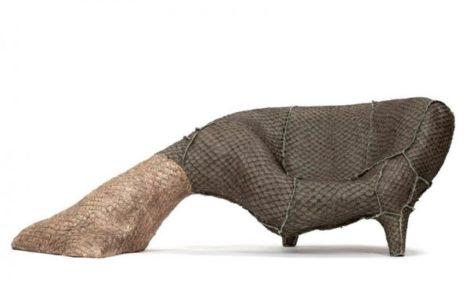 Гармония несочетаемого: кресло из рыбьей чешуи, стул-каракатица и приключения старого матраса