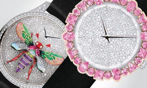 Часы & Караты: пчелы, кружево и звездное небо в часовых новинках от Dior Horlogerie