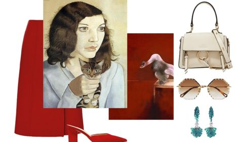 «Как это носить» с Ирэн Дужий: модные образы,  вдохновленные великими произведениями искусства
