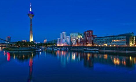Celebrity Travel: Мария Лобанова провела уикенд в Дюссельдорфе