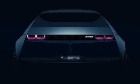 Hyundai Motor покажет электрический концепт-кар «45» на Международном автосалоне во Франкфурте