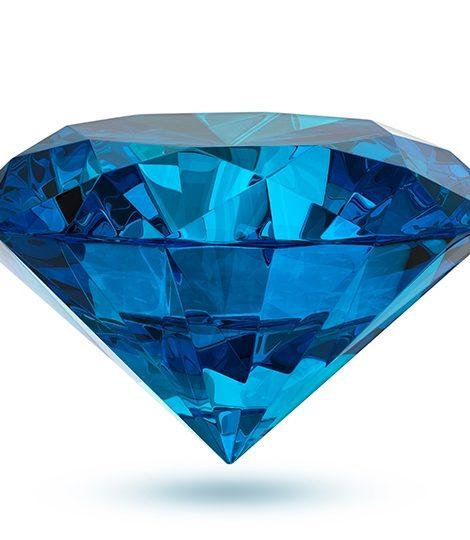 Драгоценные камни в оттенках цвета 2020 года по версии Pantone «Классический синий»