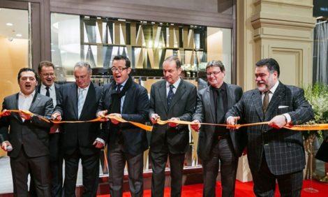 Светская хроника: открытие первого в Москве бутика Audemars Piguet