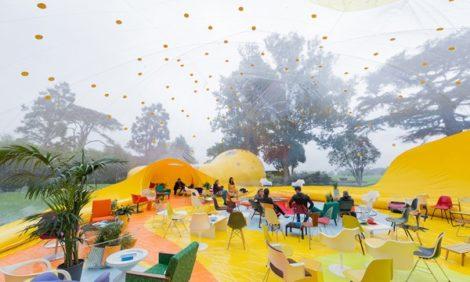 Архитектура: нас надули, или Как надувной шатер завоевывает мир
