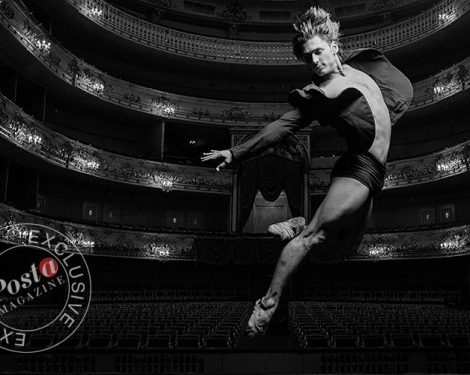 Балет: эксклюзивное интервью и фотосессия с премьером Михайловского театра Иваном Васильевым