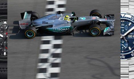 Дуэт: Часовая компания IWC и команда «Формулы-1» Mercedes AMG Petronas теперь вместе