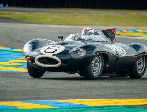 Авто: гоночные ретро-автомобили Jaguar на гонках Le Mans Classic