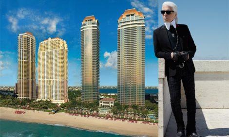Дизайн & Декор: Карл Лагерфельд создаст декор жилого комплекса в Майами