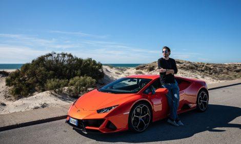 Авто с Яном Коомансом: уикенд с Lamborghini в Испании
