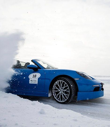 Авто с Яном Коомансом: скоростное вождение по льду в Лапландии, или Застывшая нирвана