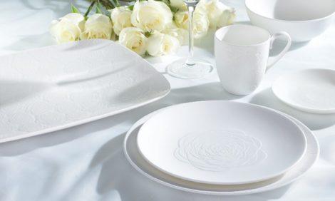 Идея подарка: дизайнерский дуэт Marchesa создал коллекцию столовой посуды
