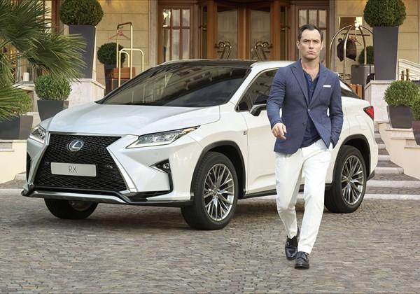 Авто: Lexus и Джуд Лоу представят онлайн-перформанс, которым будут управлять зрители