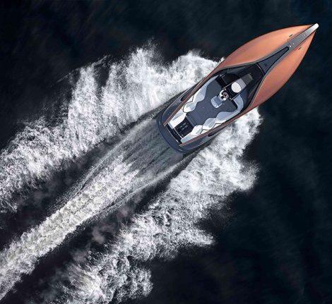 Авто: Lexus выпустил концепт спортивной яхты