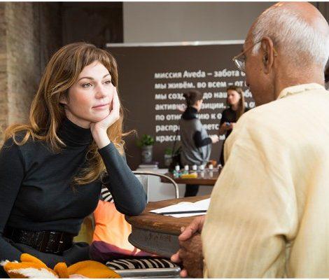 From Fashion to Beauty с Евгенией Линович: встреча с индийским гуру