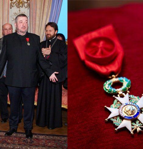 Новости: Павлу Лунгину вручили Орден почетного легиона
