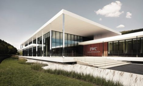 Открытие нового производственного центра Manufakturzentrum часовой компании IWC Schaffhausen