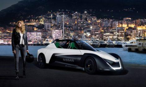 Авто: смотрим видео, как Марго Робби гоняет по ночному Монте-Карло