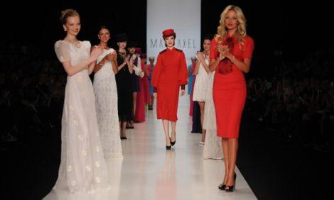 Светские детали с Екатериной Одинцовой: за кулисами Mercedes-Benz Fashion Week. Показ MARI AXEL