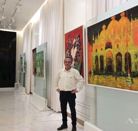 Санкт-Петербург. Art & More: выставка главного декоратора «Ленфильма» Марка Каплана