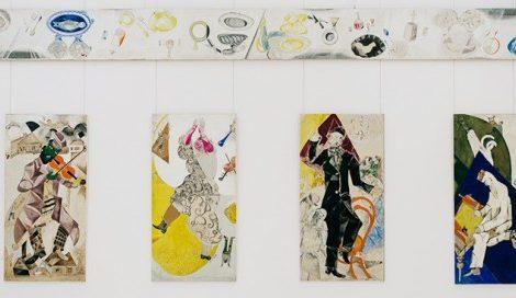 Art & More: шесть фактов о Марке Шагале, или Новые панно художника в Третьяковке