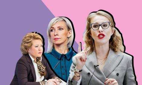 Мария Захарова возглавила медиарейтинг российских женщин