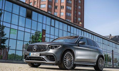 Авто с Яном Коомансом: обзор Mercedes-AMG GLC 63s