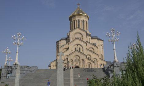 Эксклюзивный репортаж: крестины Мелании и Ивана Мирианашвили-Огаревых в Тбилиси