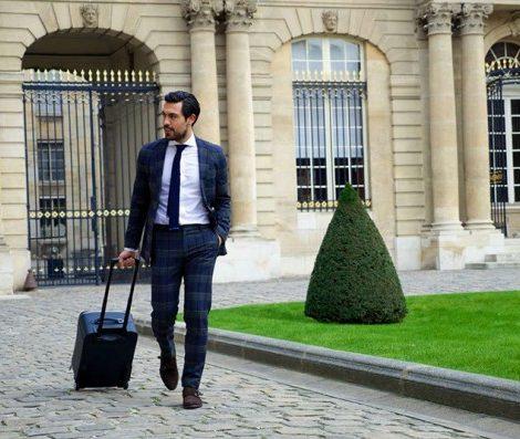 Men in Style: стильный багаж для бизнес-поездок